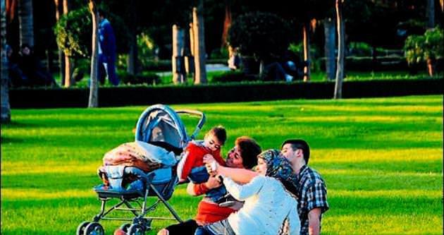 Adanalılar parklara koştu