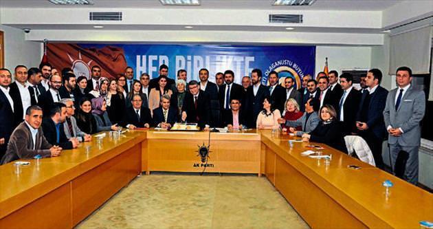 AK Parti yönetimi ilk toplantısını düzenledi