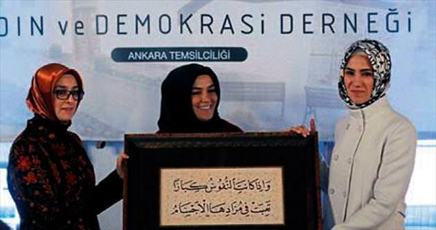 KADEM Ankara'da törenle açıldı