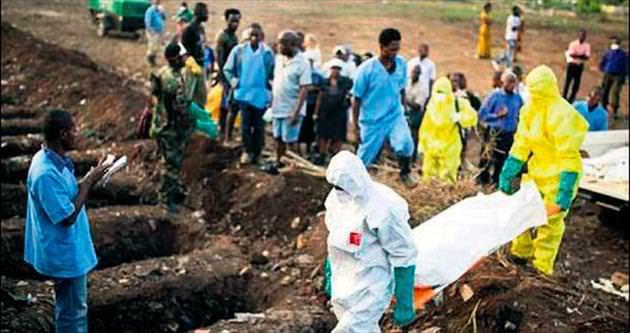 Eboladan 5 gün içinde 458 ölüm