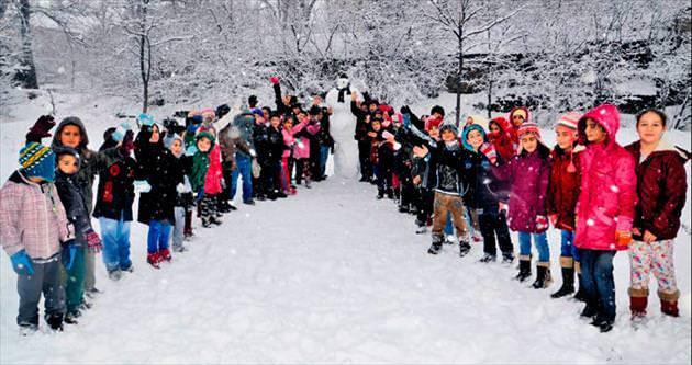 İç Anadolu'da kar Güneydoğu'da sis