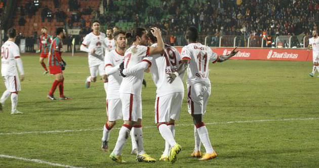 Galatasaray sürprize izin vermedi