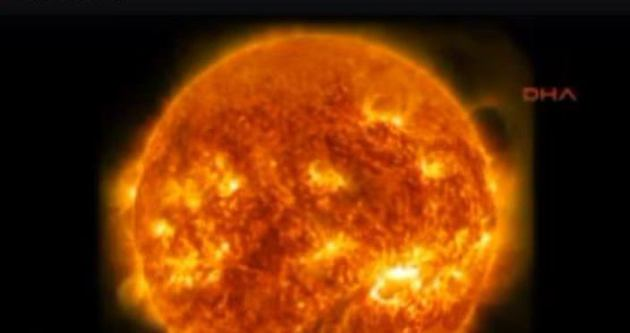 Güneş ilk kez böyle görüntülendi