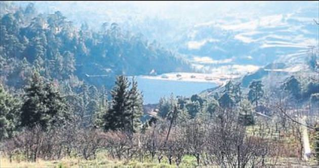 Karadere Göleti seviyesi yüzde 90
