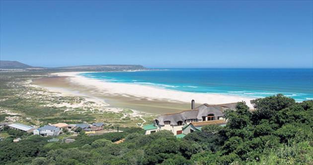 Masa Dağı'nın eteklerinden denize Cape Town