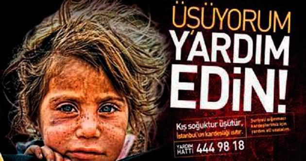 Suriyeli mültecilere anlamlı kampanya