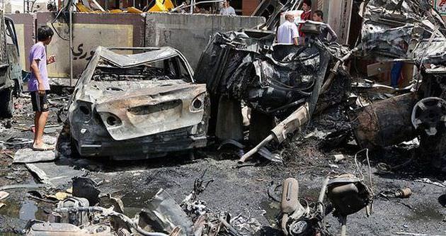 Bağdat'ta bombalı saldırı: 45 ölü