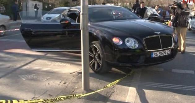Sarıyer'de lüks otomobilde infaz