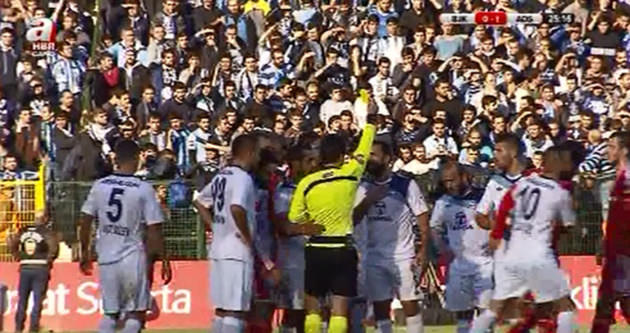 Beşiktaş - Adana Demirspor maçında tarihi olay