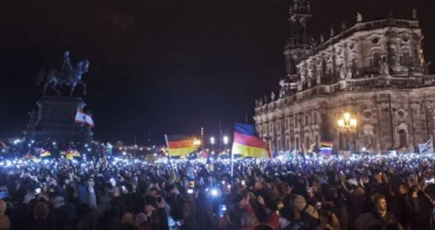 Almanya'da PEGIDA eylemi