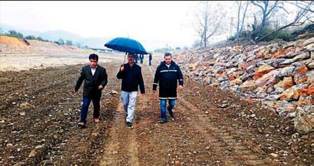 Hacımusa'da ıslah çalışması sürüyor