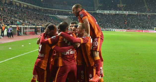 Galatasaray 5'te 5 peşinde