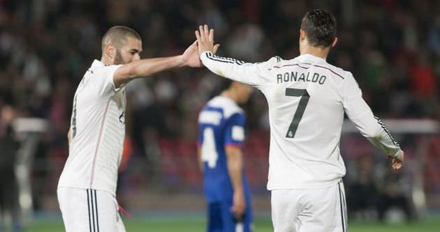 Ronaldo ve Benzema İstanbul'a geliyor