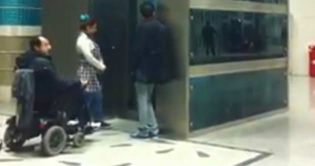 Yenikapı metrosunda insanlık ayıbı