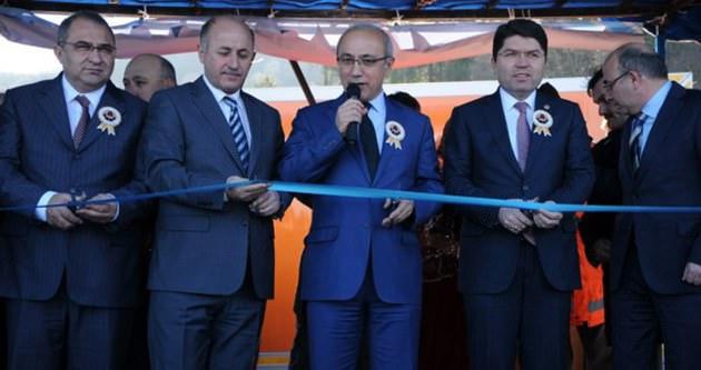 Bakan Elvan Bartın-Amasra Tüneli'nin açılışını yaptı