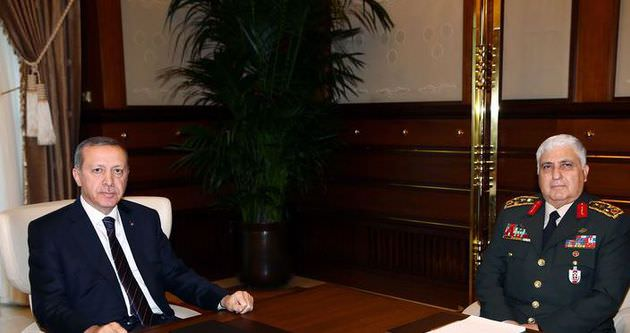 Erdoğan Necdet Özel ve Hakan Fidan'ı ağırladı