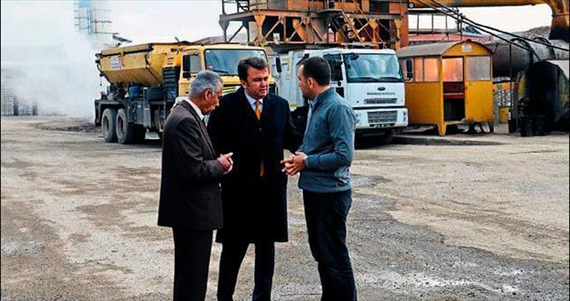 Petrol fiyatları düşünce asfalt üretimi hızlandı