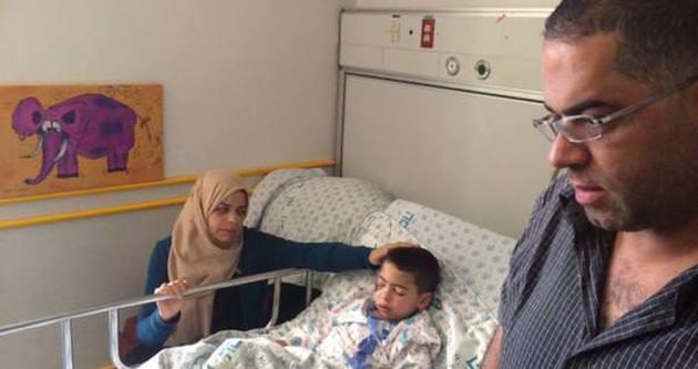 İsrail askeri küçük Cemal'i yaraladı
