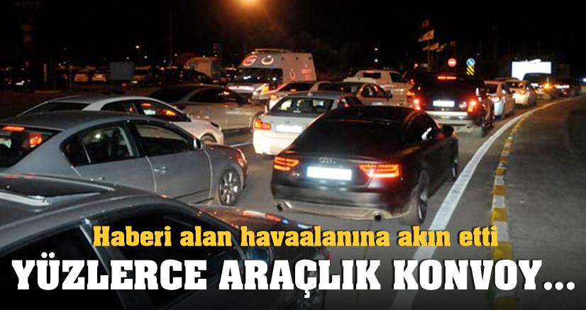 Vedat Şahin'in cenazesi Samsun'a götürüldü