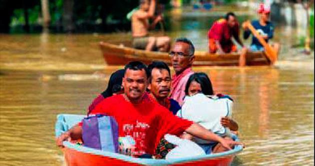 106 bin kişi tahliye edildi