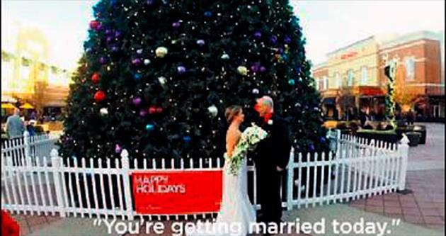 Fotoğraf için gidip gerçekten evlendi