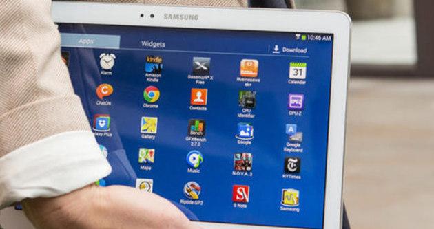 Samsung'un yeni tableti sızdı
