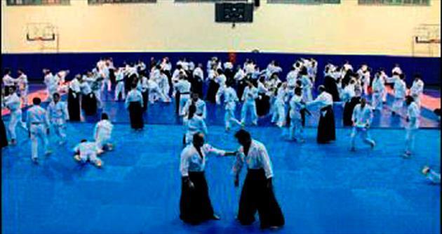 Aikido eğitimi büyük ilgi görüyor