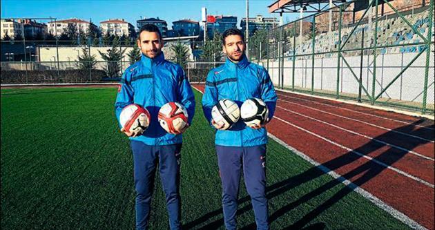 Başarılı kardeşlerin hedefi Üçüncü Lig