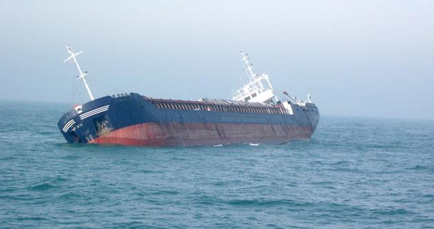 Türk gemisi battı!