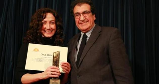 Sevgi Taner'e 'Cam Sanat Ödülü'
