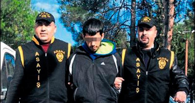 Telefon gaspı şüphelisi Mersin'de yakalandı