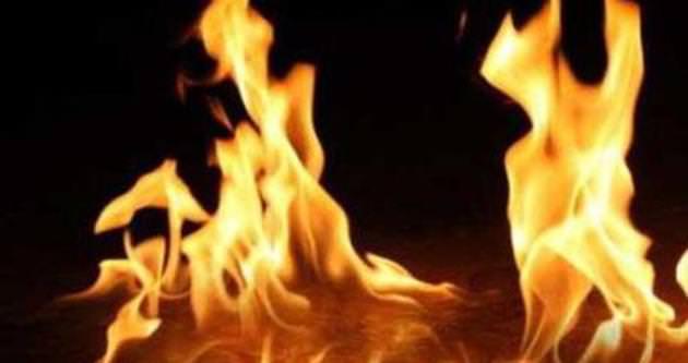 İzmir'de tarihi köşkte yangın