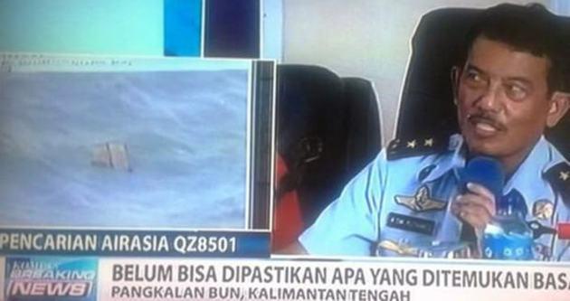 Kayıp Endonezya uçağı bulundu