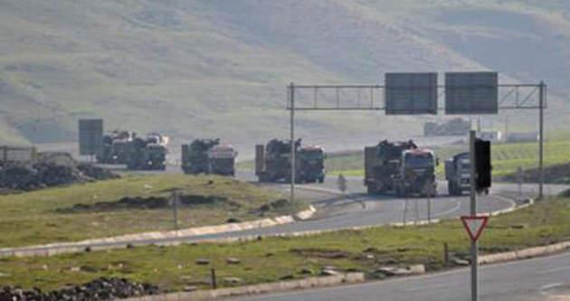 Cizre'de askeri hareketlilik