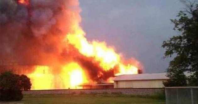 Çin'de fabrikada patlama: 17 ölü
