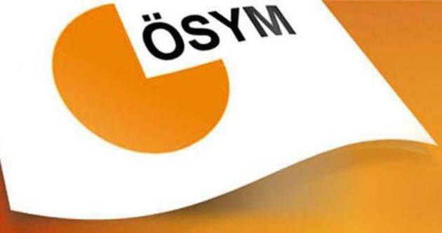 ÖSYM: YGS başvuruları 5 Ocak'ta başlıyor