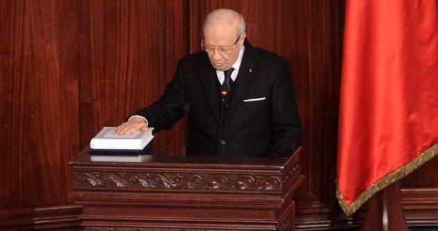 Tunus'ta Sibsi yemin etti