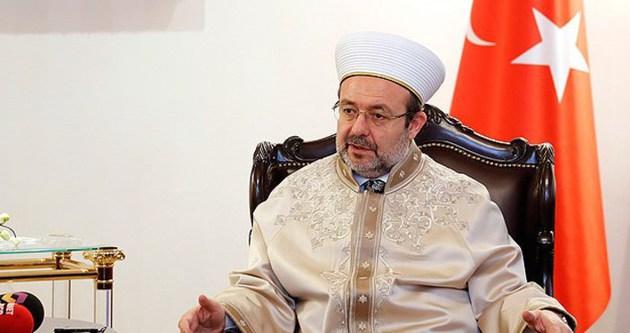 Mehmet Görmez: Peygamber Efendimizin rehberliğine ihtiyaç var