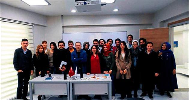 Hasan Kalyoncu'da Medya Atölyesi