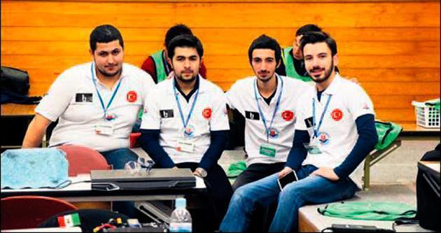 Japonya'da Türk robota ödül