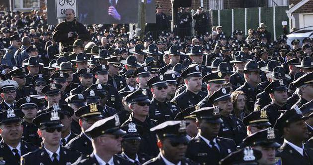 ABD polisi Başkan'a tavır aldı!