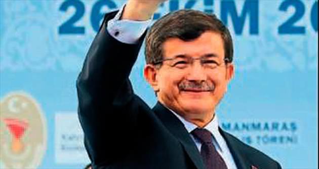 Mersin'de Başbakan Davutoğlu heyecanı