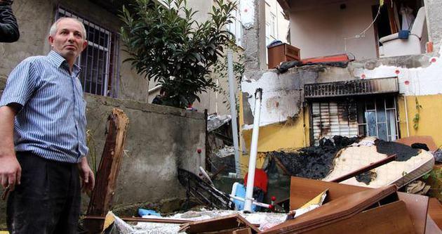 İstanbul Tuzla'da doğalgaz patlaması