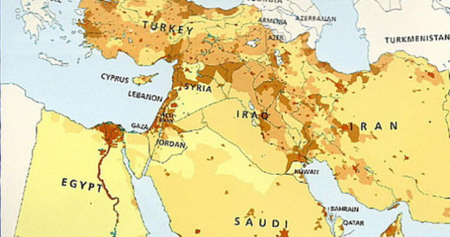 İsrail'i haritadan sildiler