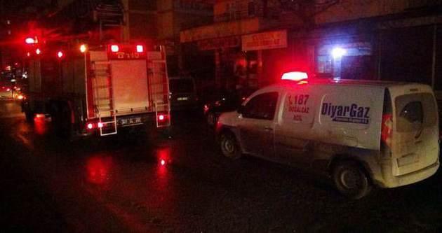 Diyarbakır'da doğalgaz paniği