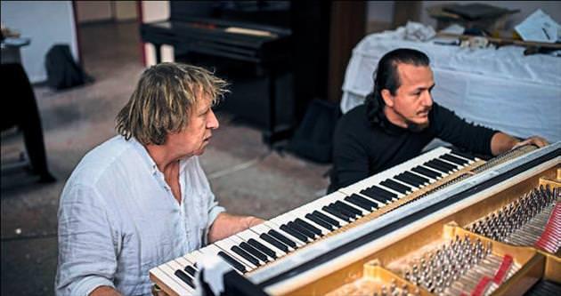 Cumhuriyetin piyanoları restoratör Jobe'a emanet