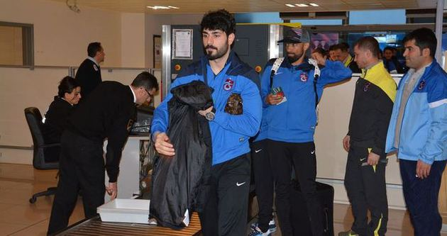 Trabzonspor Balıkesir'e gitti