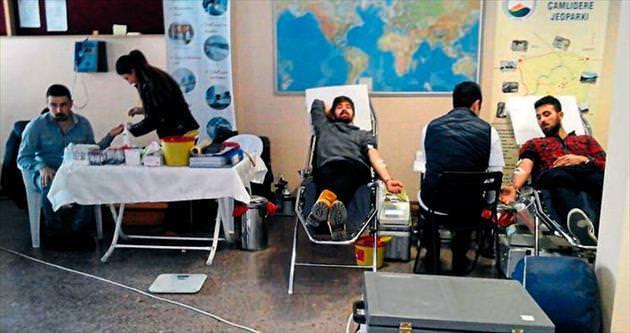 600 kişiye hayat verecek kan bağışı