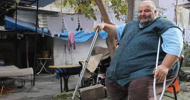 252 kiloluk adamdan yardım çığlığı
