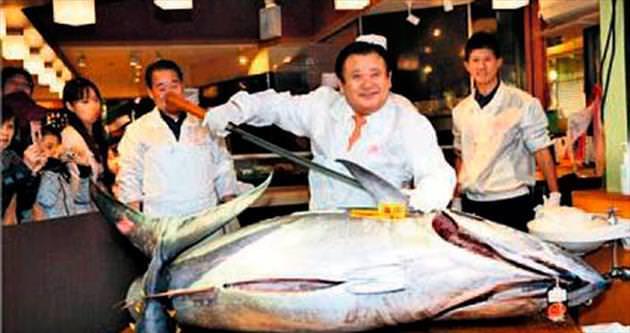 Ton balığına 37 bin $